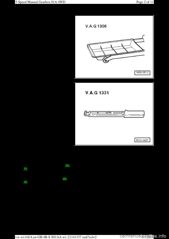 AUDI A6 2000 C5 / 2 G