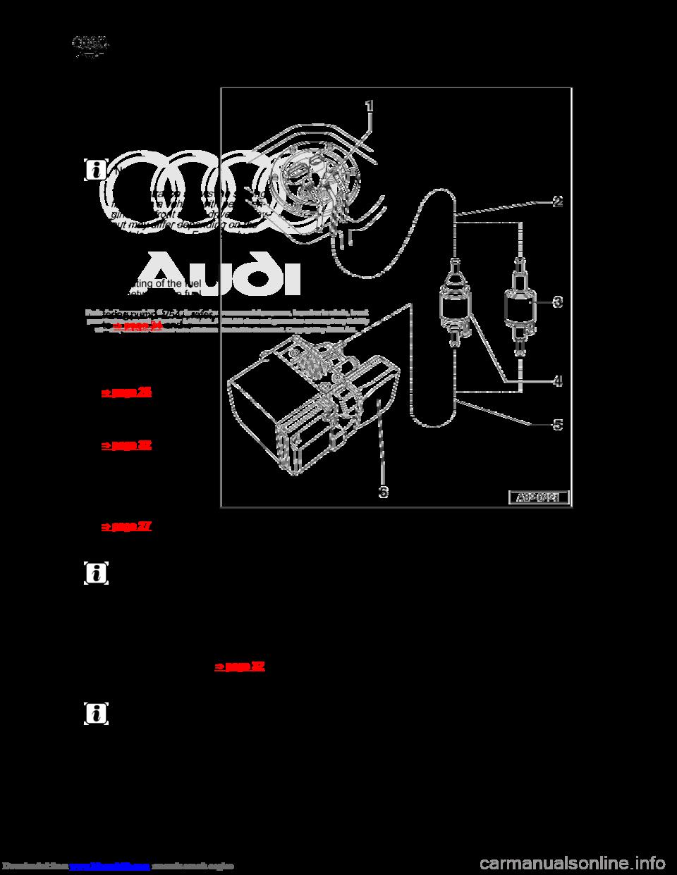 Audi A8 2003 D3 2g Auxiliary Heater Workshop Manual Engine Fuel Diagram
