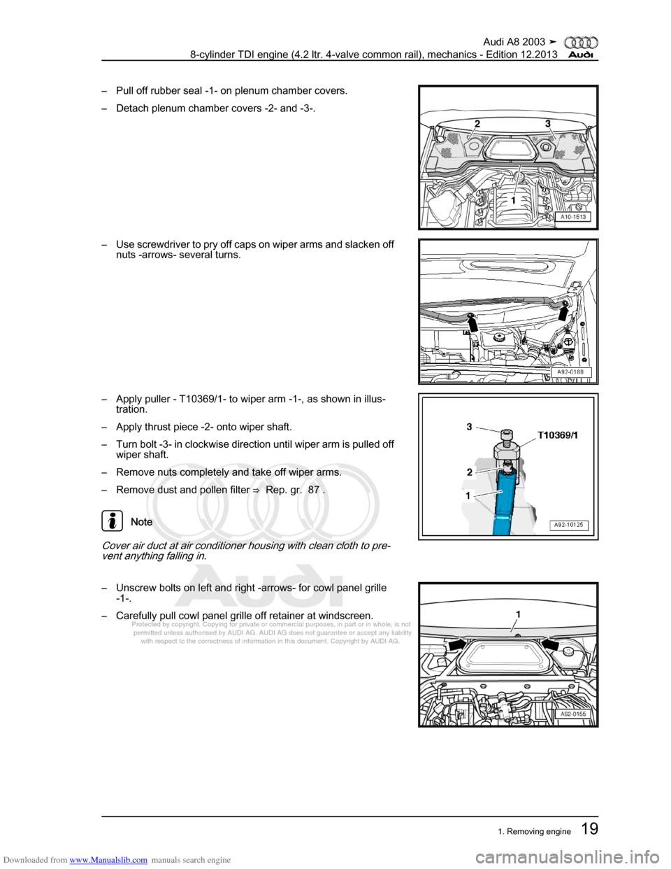Audi A8 2003 D3 2g Bvn Bmc Engines Workshop Manual 4e Fuse Box