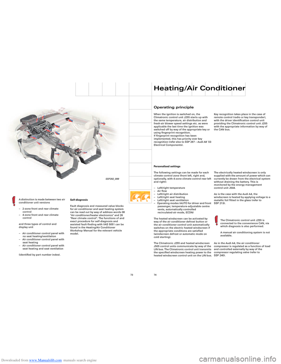 Engine Audi A8 2003 D3 2g Technical Features Manual 4 2 Diagram Front Page 73