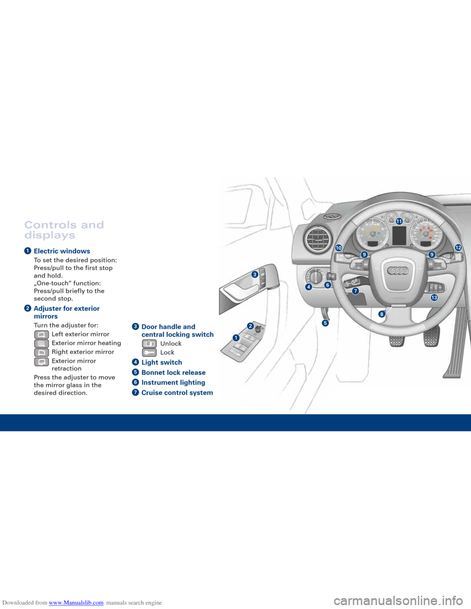 audi a3 2007 8p    2 g quick reference guide