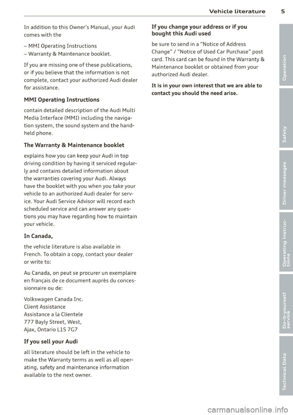 Download Manual 2015 Audi A3 MMI Navigation plus
