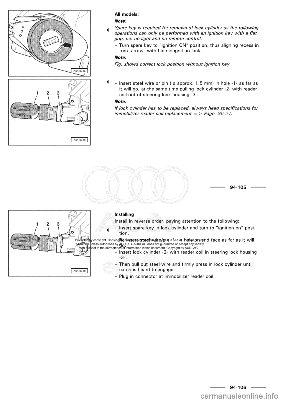 Audi a3 2003 8l 1g electrical system workshop manual cheapraybanclubmaster Image collections