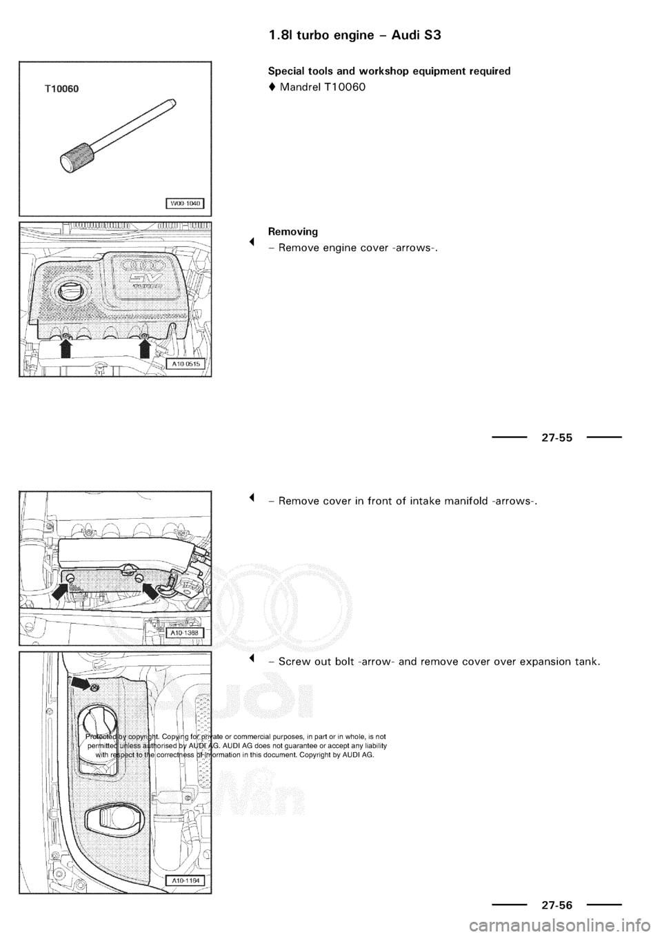 AUDI A3 1998 8L / 1.G Electrical System Owners Guide