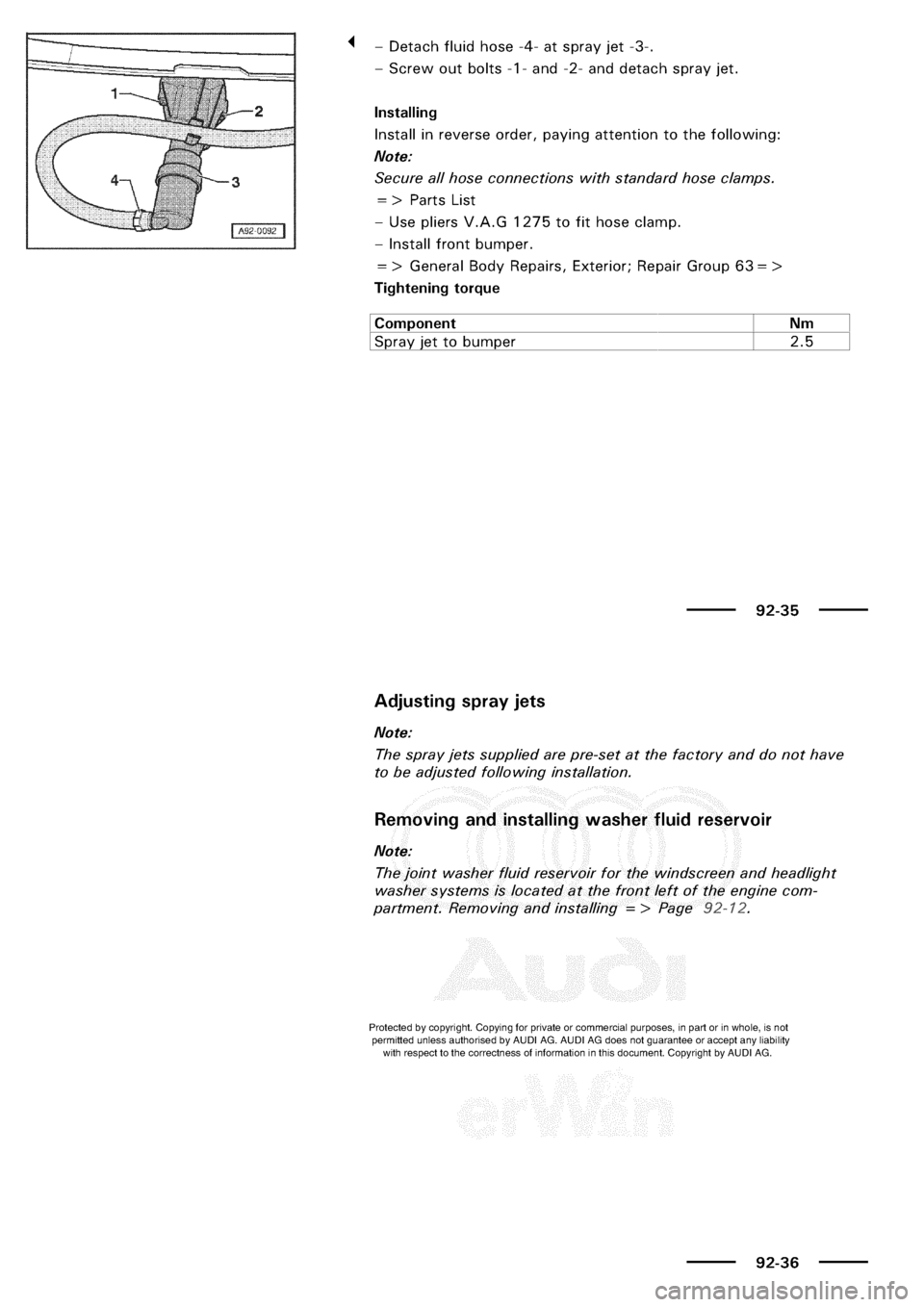 Audi A3 1998 8l    1 G Electrical System Manual Online  189