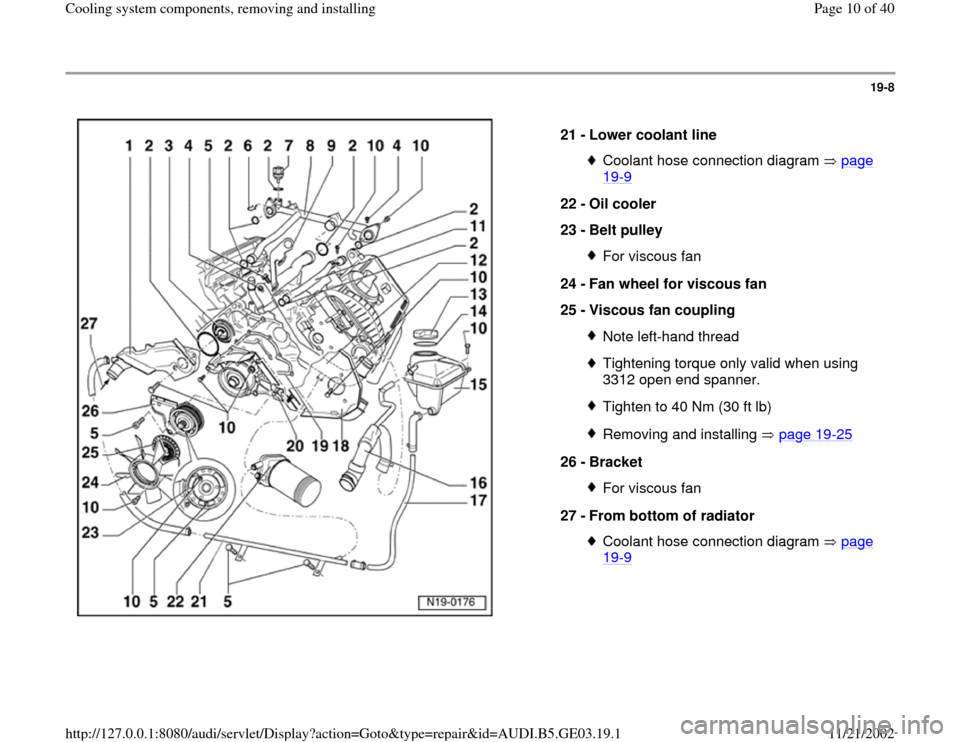 Wiring Diagram  29 Audi A4 Cooling System Diagram