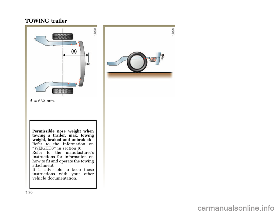 RENAULT CLIO 2000 X65 / 2.G Owners Manual, Page 156