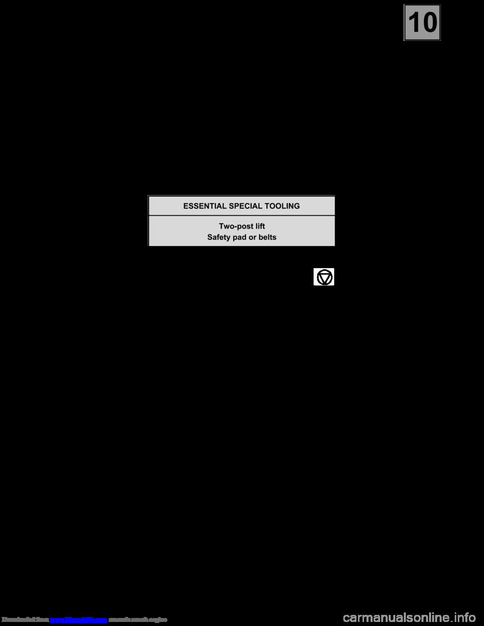 ... Array - renault espace 2000 j66 3 g technical note 3426a workshop manual  rh carmanualsonline info