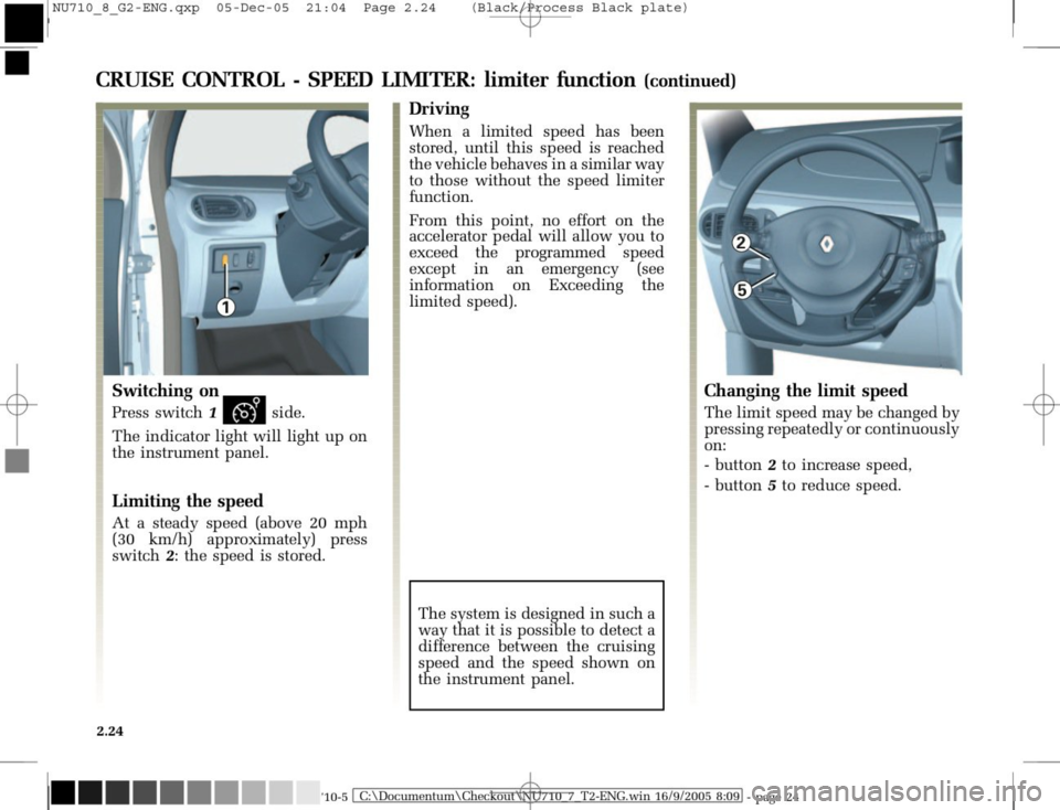 RENAULT MODUS 2008 1.G Owners Manual, Page 120