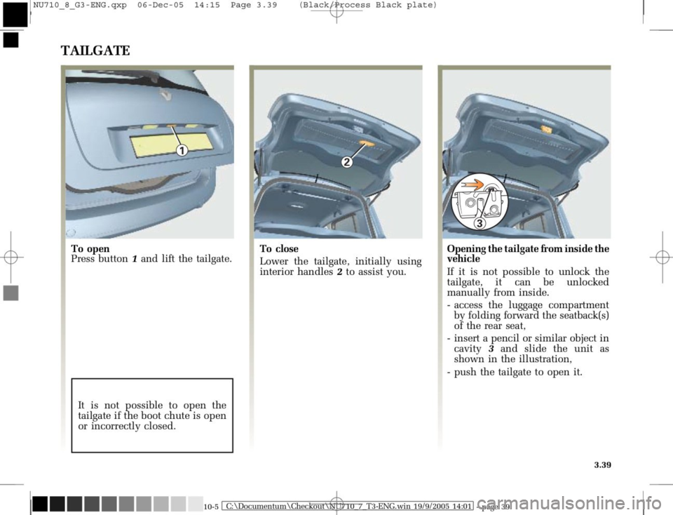 RENAULT MODUS 2008 1.G Owners Manual, Page 175