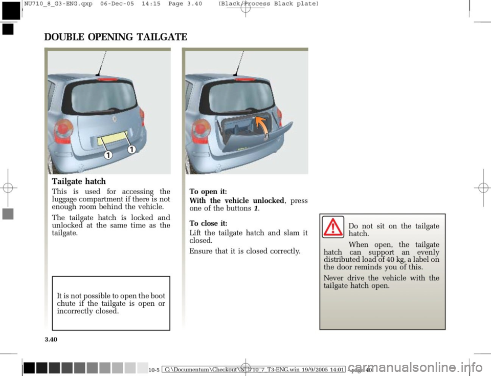 RENAULT MODUS 2008 1.G Owners Manual, Page 176