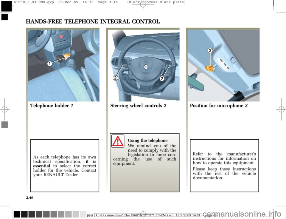 RENAULT MODUS 2008 1.G Owners Manual, Page 182