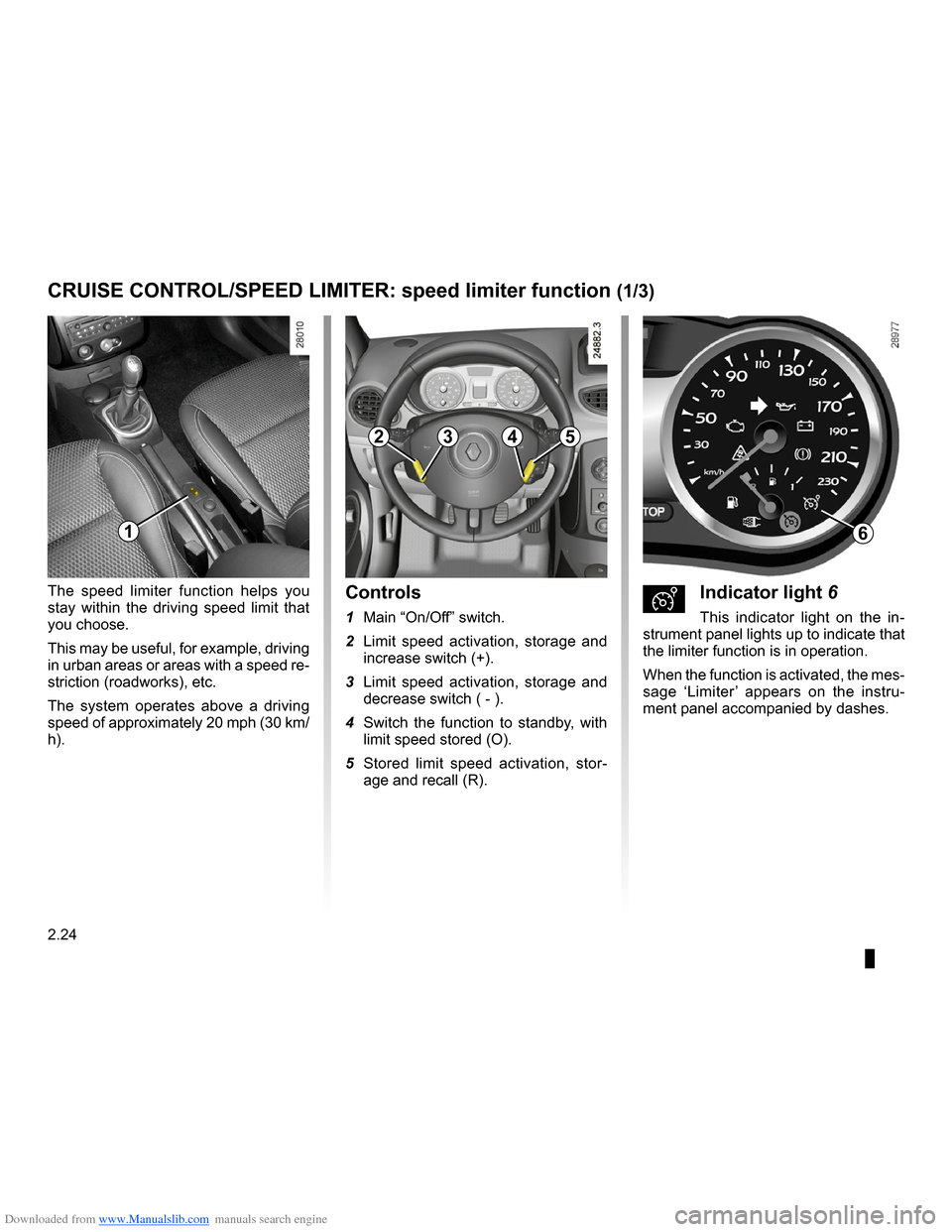 RENAULT CLIO 2009 X85 / 3.G Owners Manual, Page 116