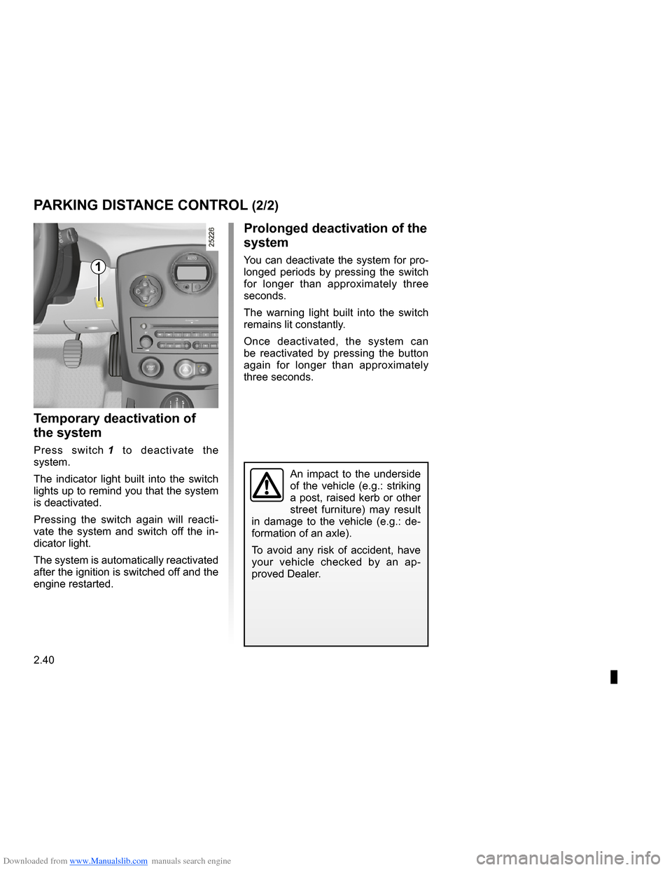 RENAULT CLIO 2009 X85 / 3.G Owners Manual, Page 132