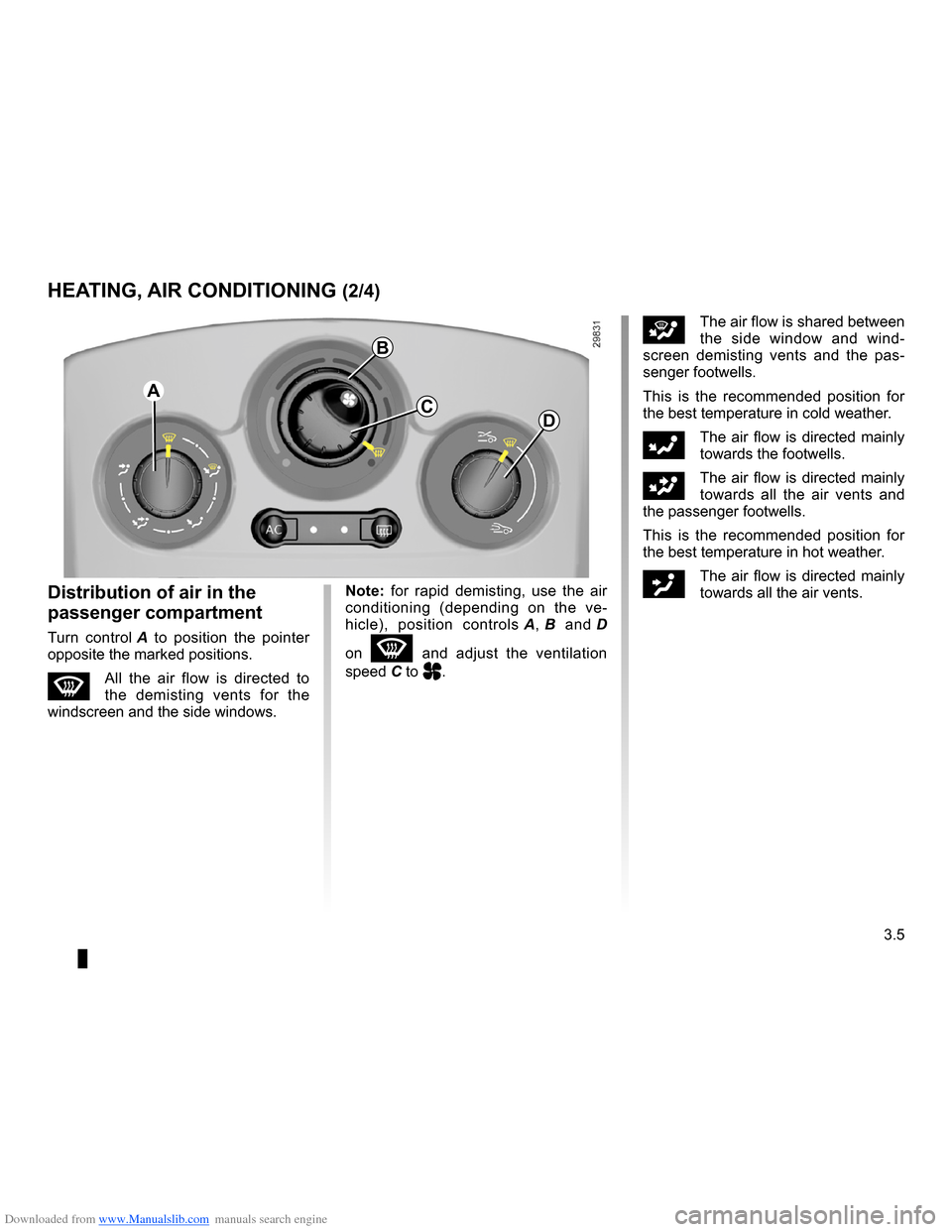 RENAULT CLIO 2009 X85 / 3.G Owners Manual, Page 137