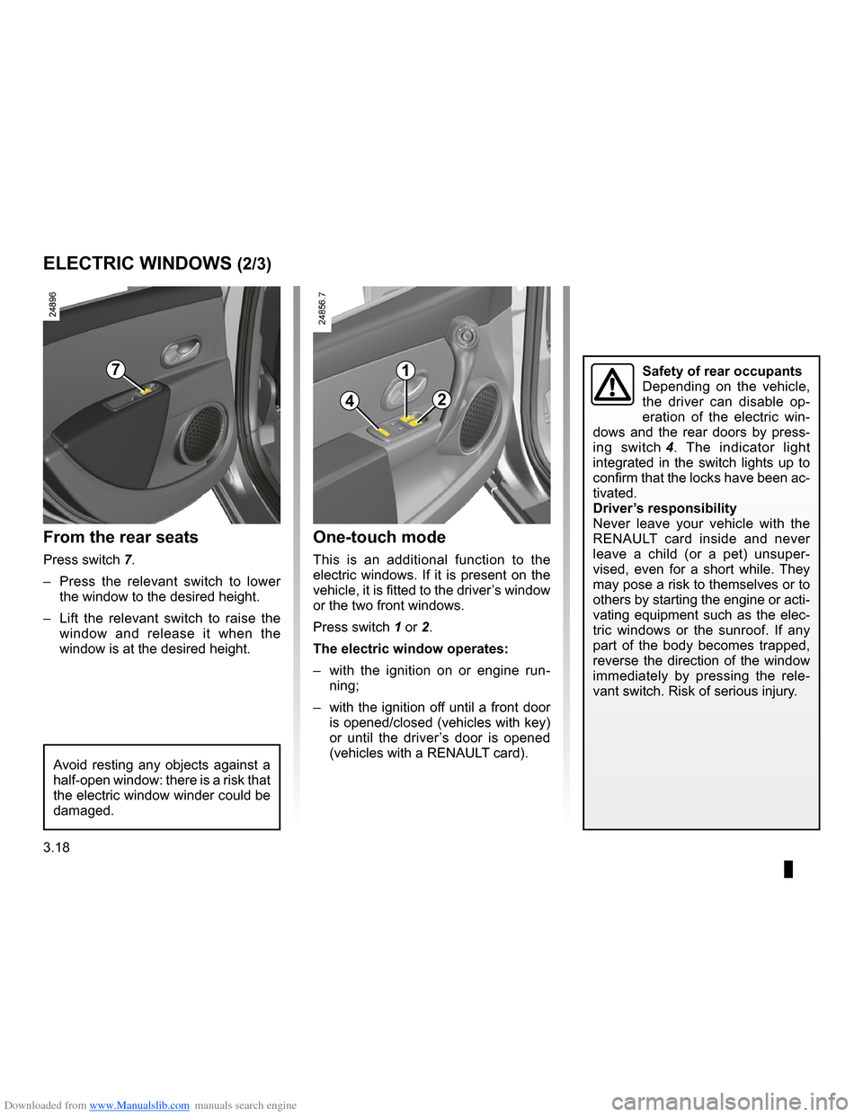 RENAULT CLIO 2009 X85 / 3.G Owners Manual, Page 150
