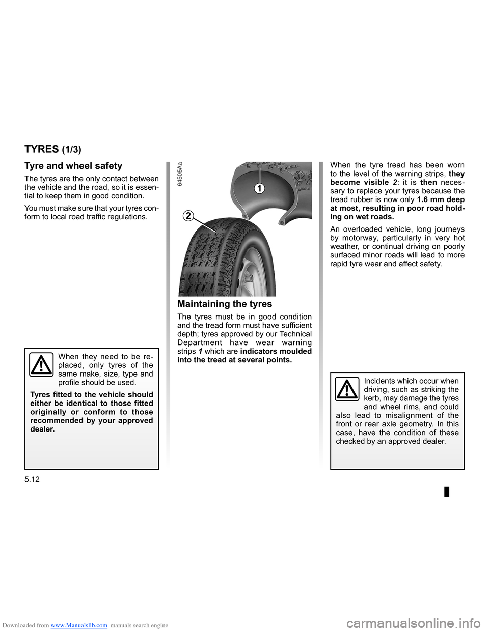 RENAULT CLIO 2009 X85 / 3.G Owners Manual, Page 200