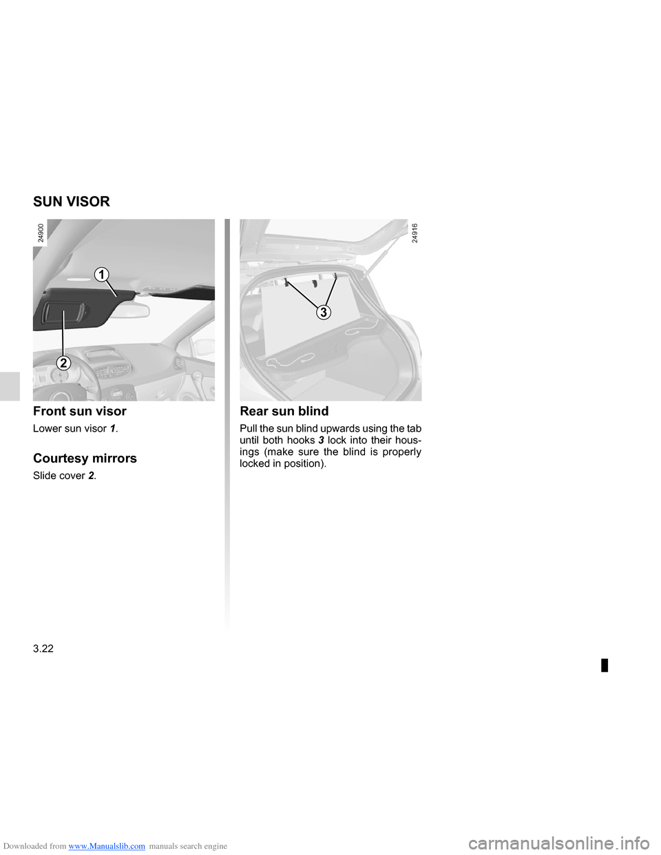 RENAULT CLIO 2012 X85 / 3.G Owners Manual, Page 156