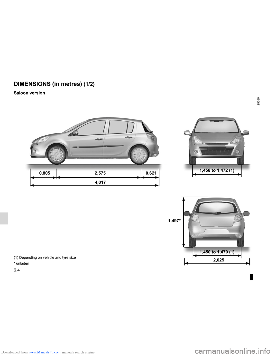 RENAULT CLIO 2012 X85 / 3.G Owners Manual, Page 244
