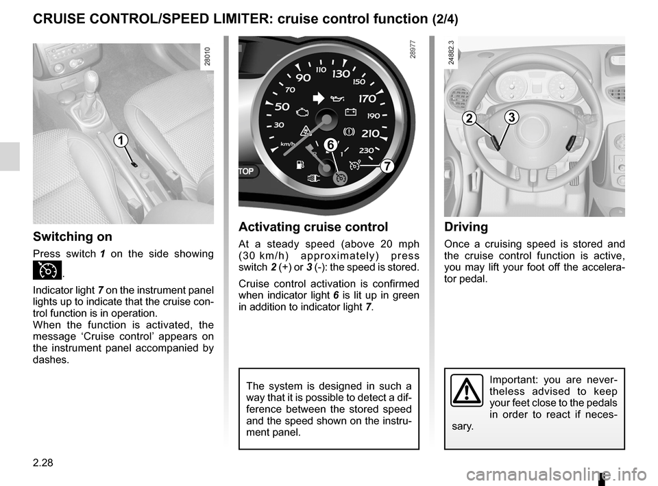 RENAULT CLIO SPORT TOURER 2012 X85 / 3.G Owners Manual, Page 122