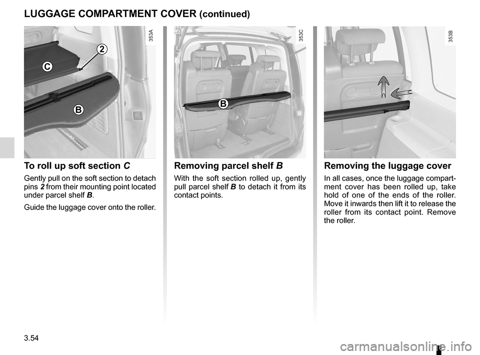 RENAULT ESPACE 2012 J81 / 4.G Owners Manual, Page 176