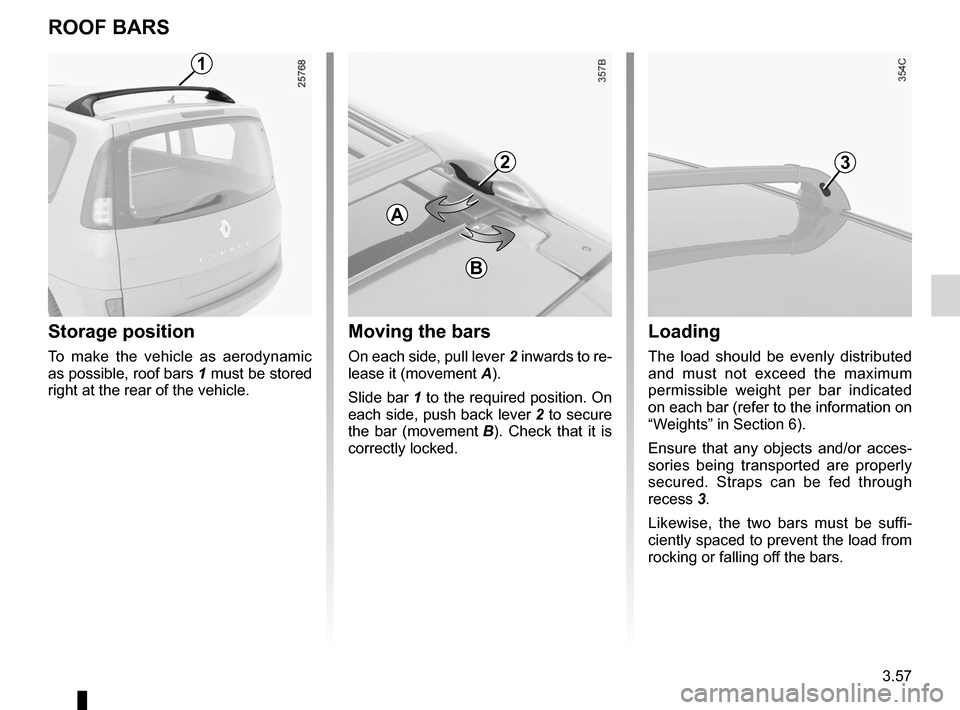 RENAULT ESPACE 2012 J81 / 4.G Owners Manual, Page 179
