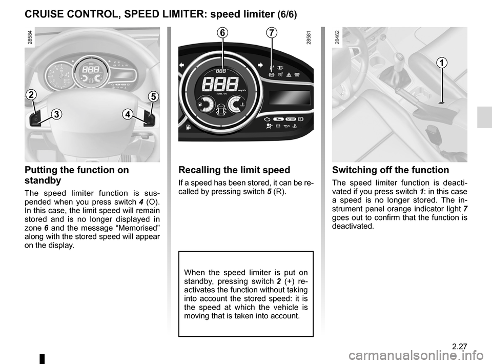 RENAULT FLUENCE 2012 1.G Owners Manual, Page 115