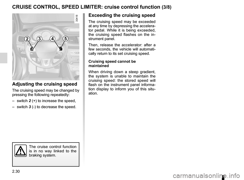 RENAULT FLUENCE 2012 1.G Owners Manual, Page 118