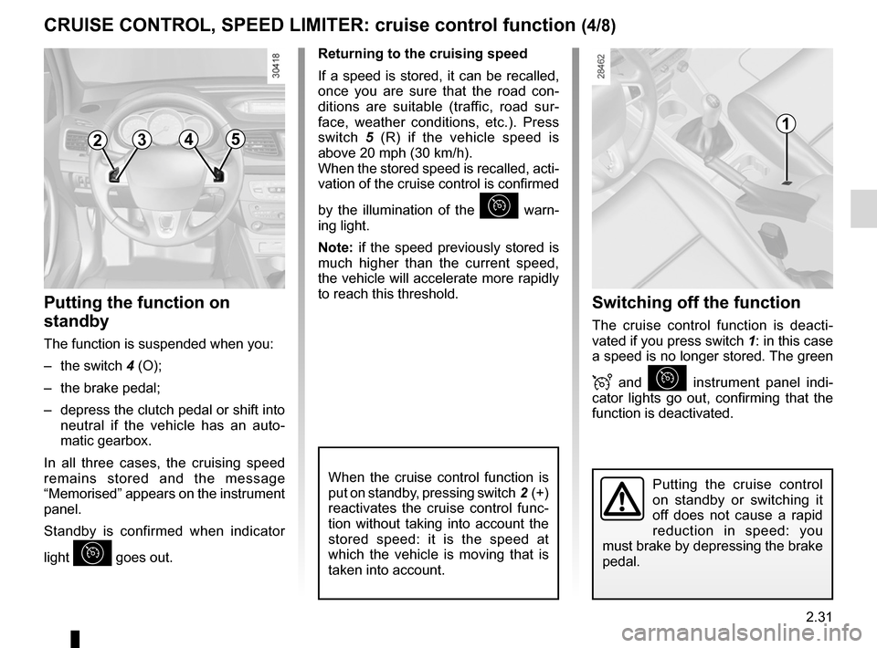 RENAULT FLUENCE 2012 1.G Owners Manual, Page 119