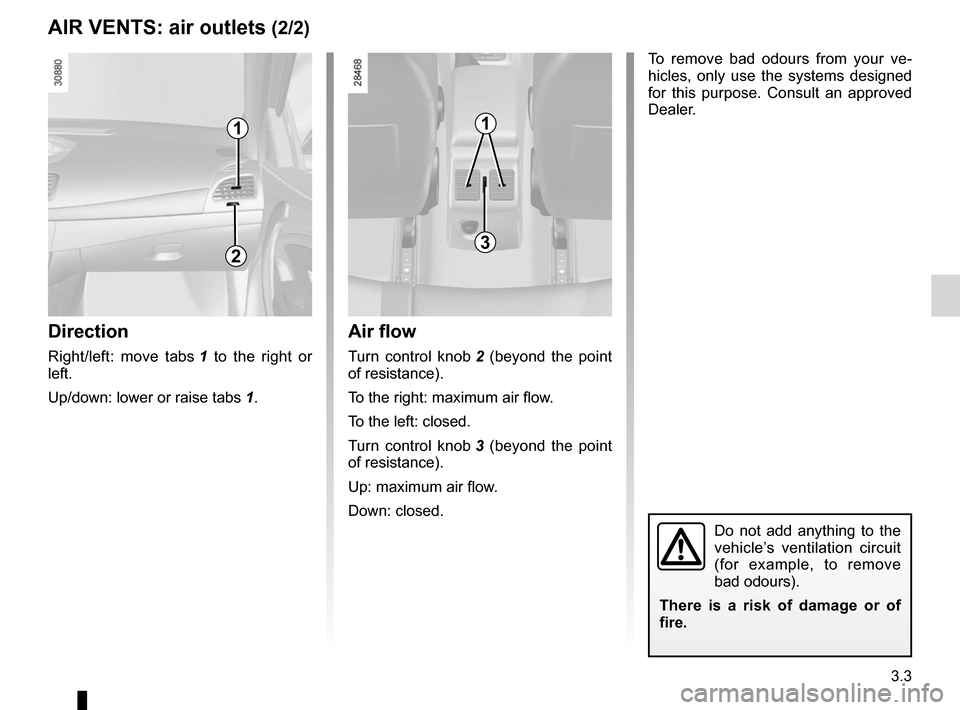 RENAULT FLUENCE 2012 1.G Owners Manual, Page 131