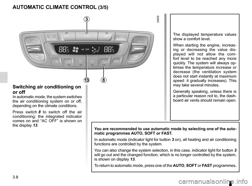 RENAULT FLUENCE 2012 1.G Owners Manual, Page 136