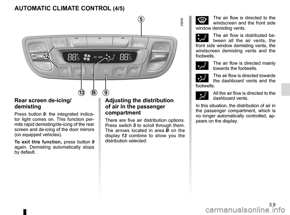 RENAULT FLUENCE 2012 1.G Owners Manual, Page 137