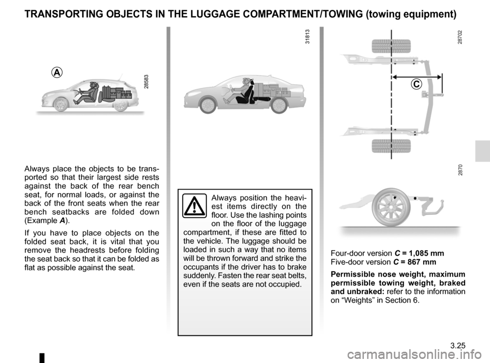 RENAULT FLUENCE 2012 1.G Owners Manual, Page 153