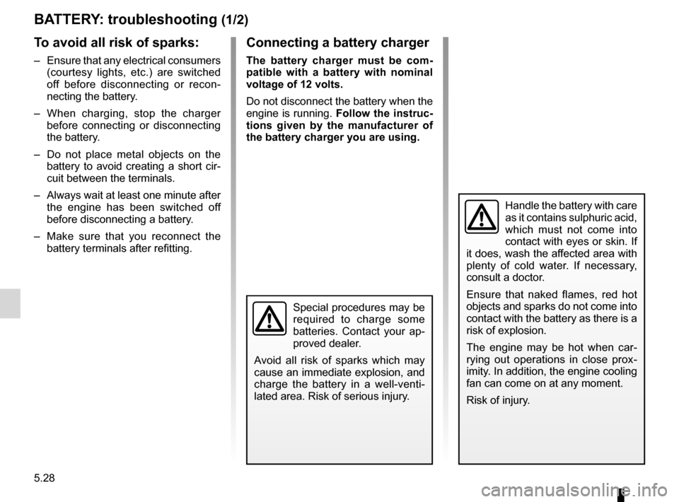 RENAULT FLUENCE 2012 1.G Owners Manual, Page 200