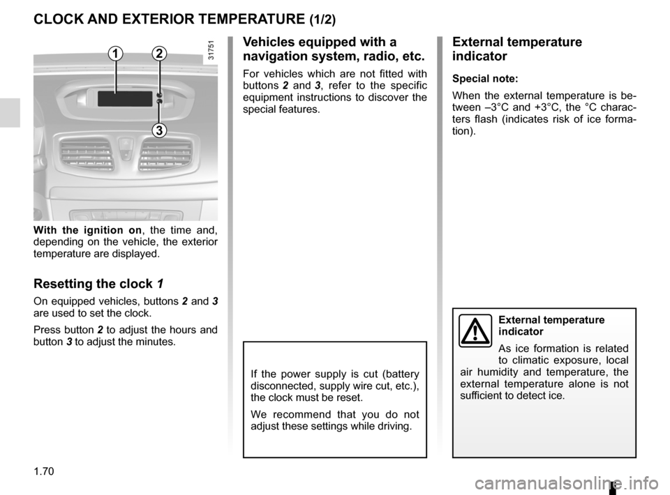 RENAULT FLUENCE 2012 1.G Owners Manual, Page 74