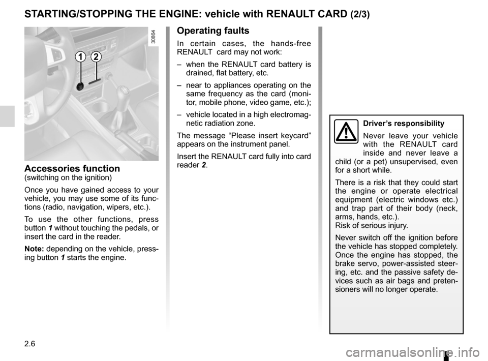 RENAULT FLUENCE 2012 1.G Owners Manual, Page 94