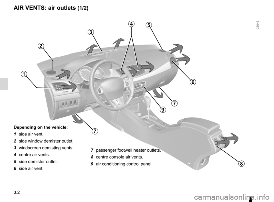 RENAULT FLUENCE ZERO EMISSION 2012 1.G Owners Manual, Page 105