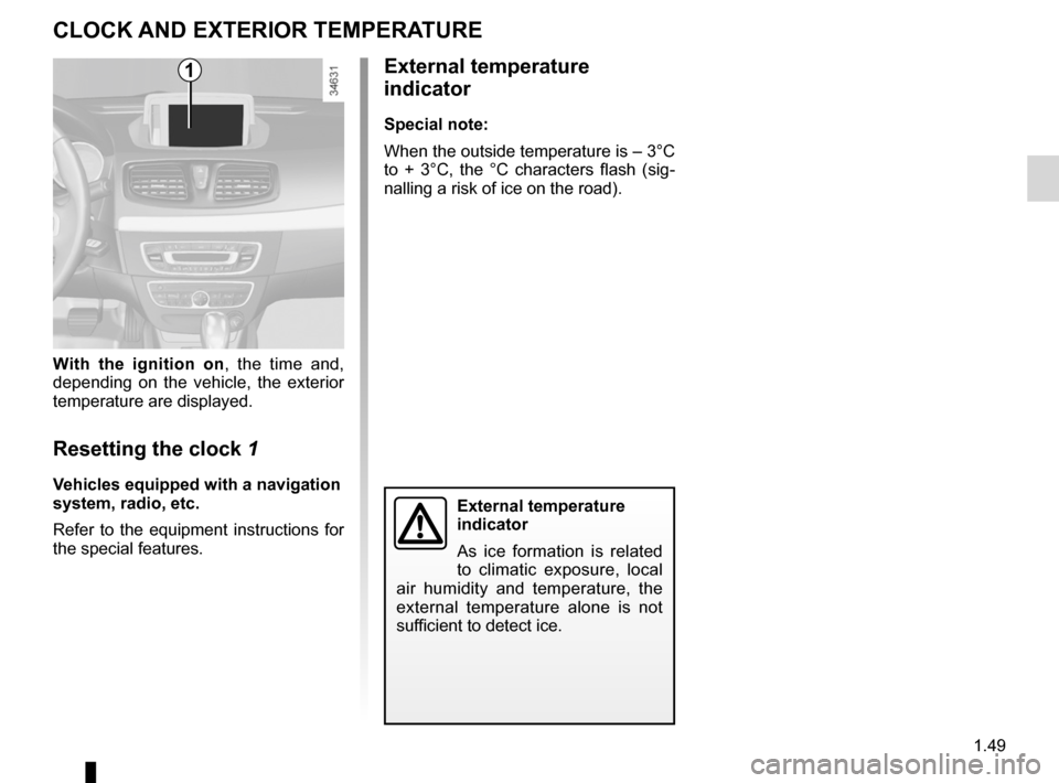 RENAULT FLUENCE ZERO EMISSION 2012 1.G Owners Manual, Page 54