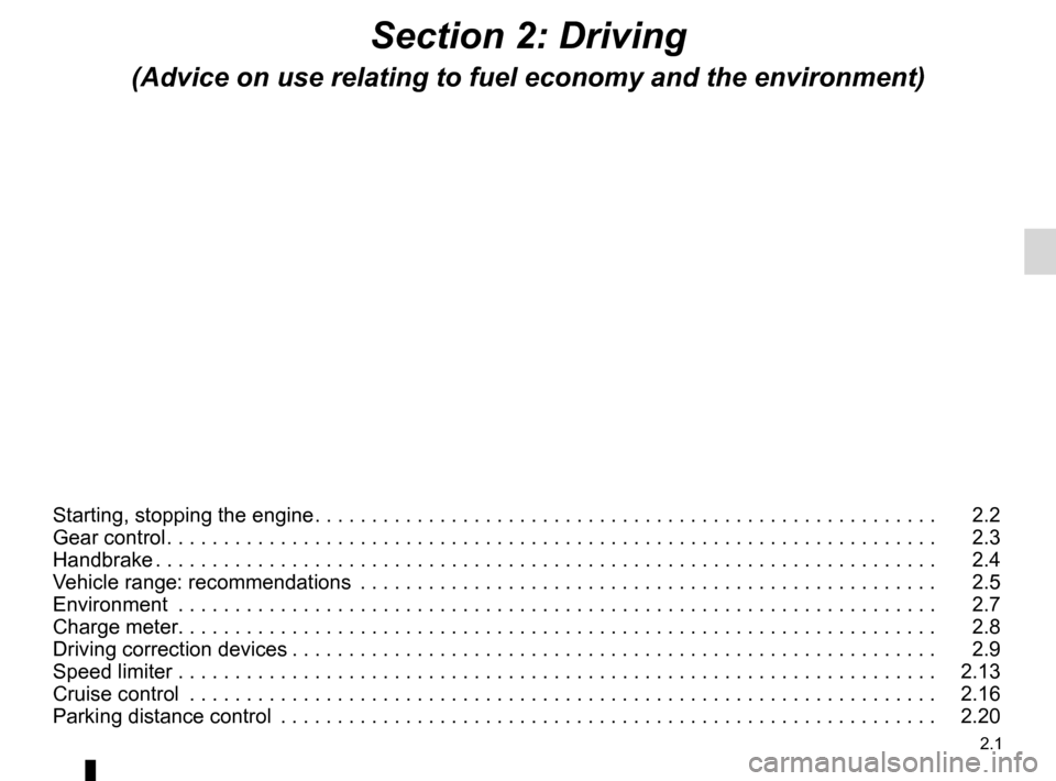 RENAULT FLUENCE ZERO EMISSION 2012 1.G Owners Manual, Page 82