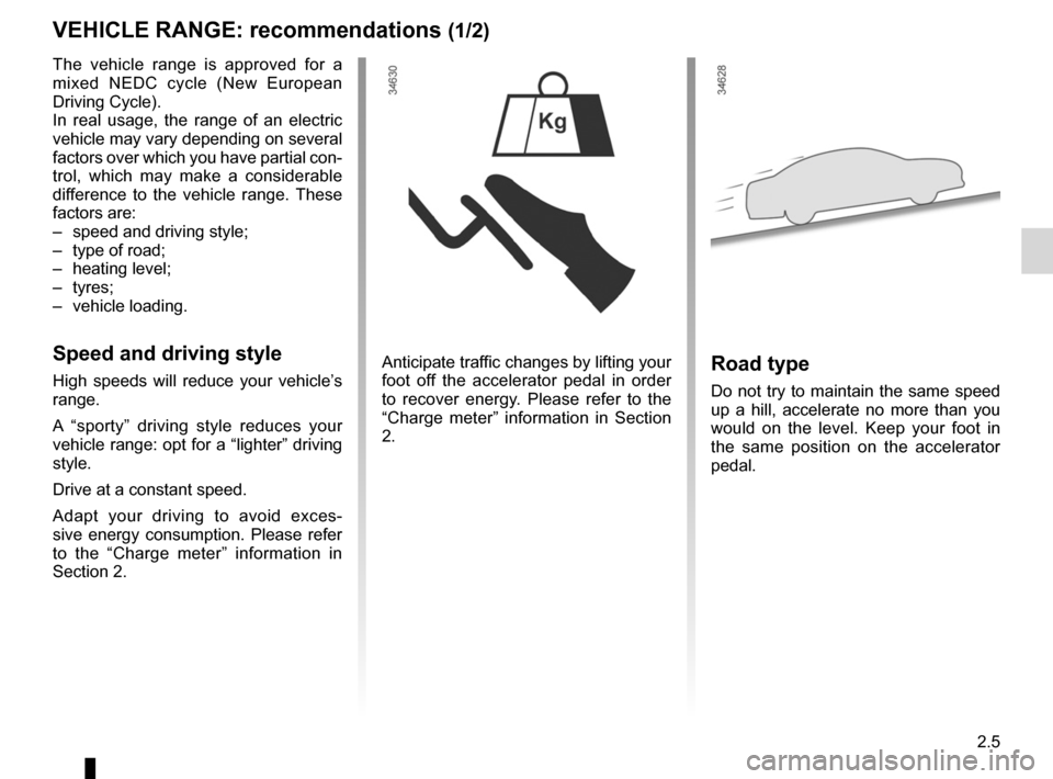 RENAULT FLUENCE ZERO EMISSION 2012 1.G Owners Manual, Page 86
