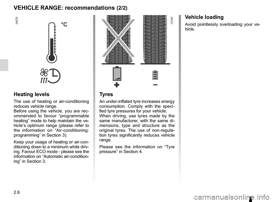 RENAULT FLUENCE ZERO EMISSION 2012 1.G Owners Manual, Page 87