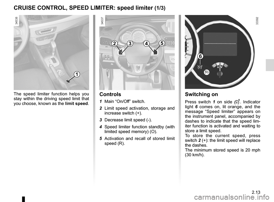 RENAULT FLUENCE ZERO EMISSION 2012 1.G Owners Manual, Page 94