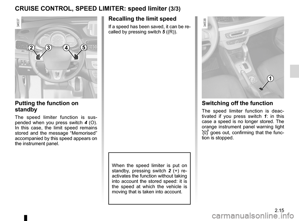 RENAULT FLUENCE ZERO EMISSION 2012 1.G Owners Manual, Page 96