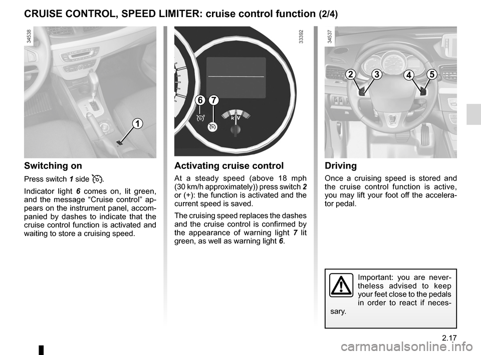 RENAULT FLUENCE ZERO EMISSION 2012 1.G Owners Manual, Page 98