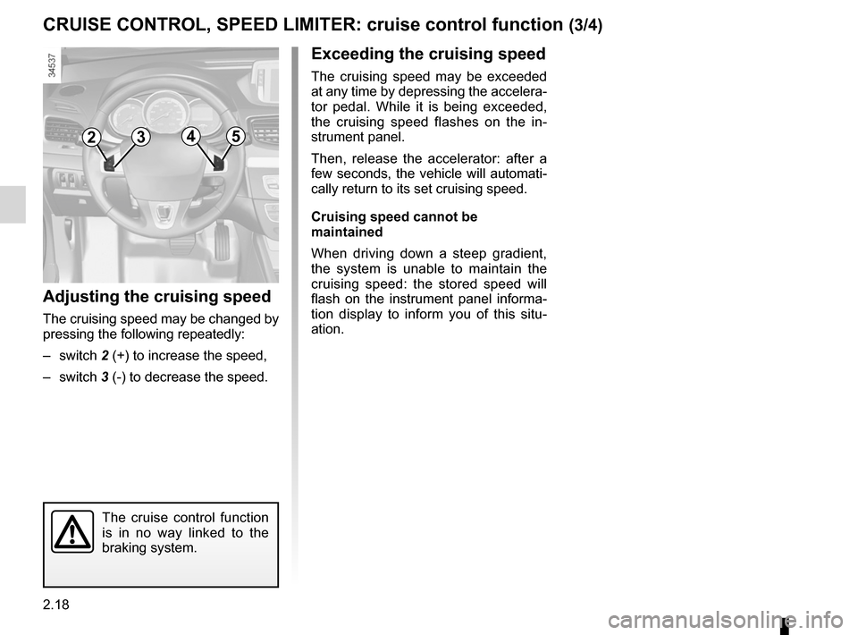 RENAULT FLUENCE ZERO EMISSION 2012 1.G Owners Manual, Page 99