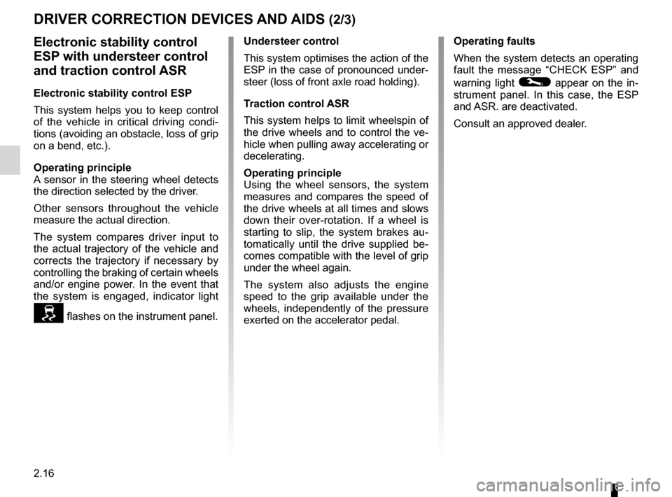 RENAULT KANGOO 2012 X61 / 2.G Owners Manual, Page 102