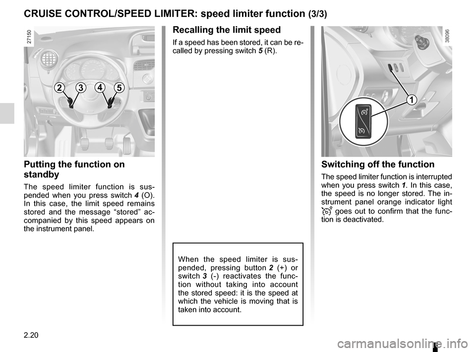 RENAULT KANGOO 2012 X61 / 2.G Owners Manual, Page 106