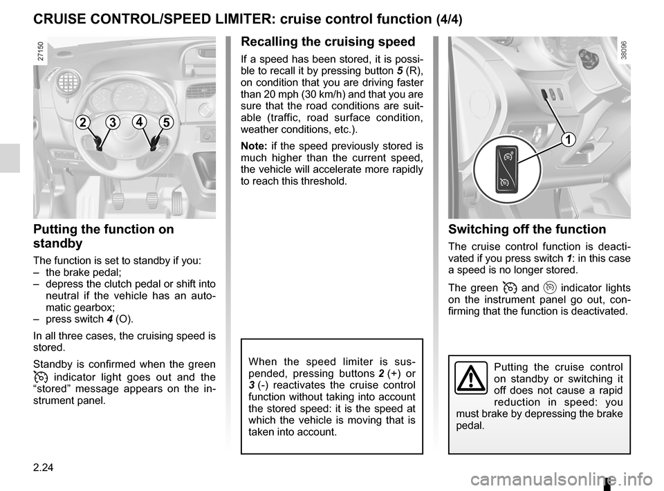 RENAULT KANGOO 2012 X61 / 2.G Owners Manual, Page 110