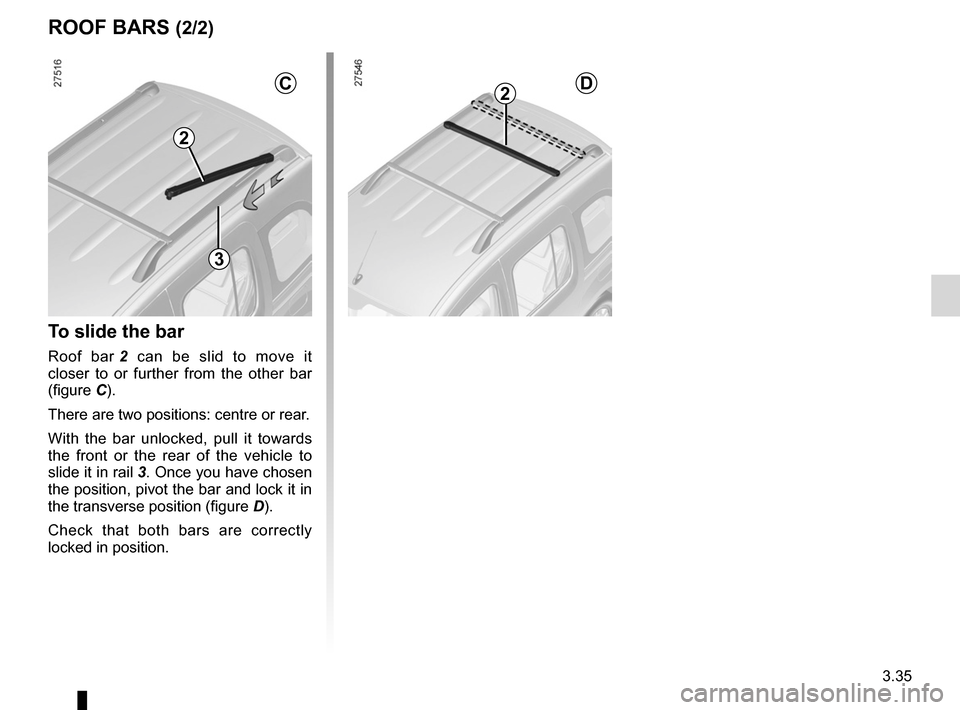 RENAULT KANGOO 2012 X61 / 2.G Owners Manual, Page 151