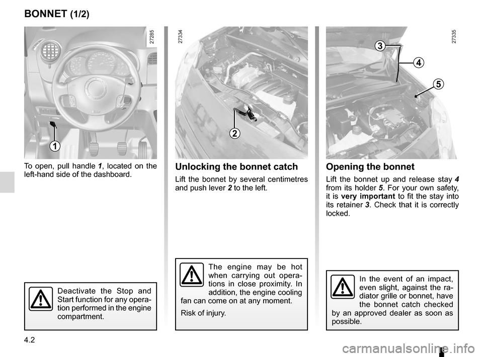 RENAULT KANGOO 2012 X61 / 2.G Owners Manual, Page 154